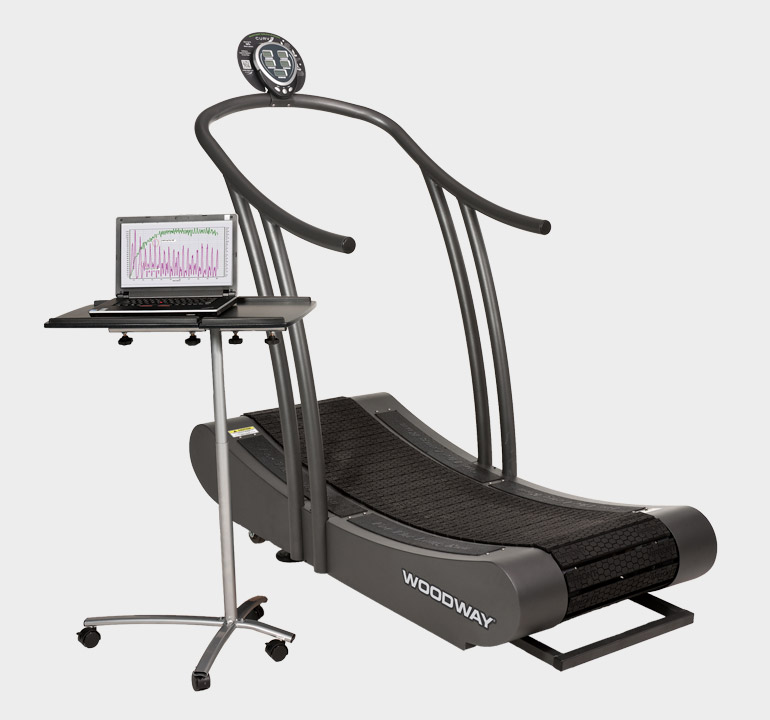 Woodway Curve Treadmill 3.0 Software