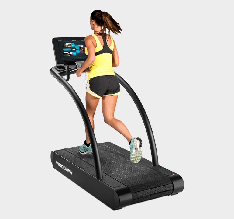 4Front - Commercial Fitness Treadmill | Woodway