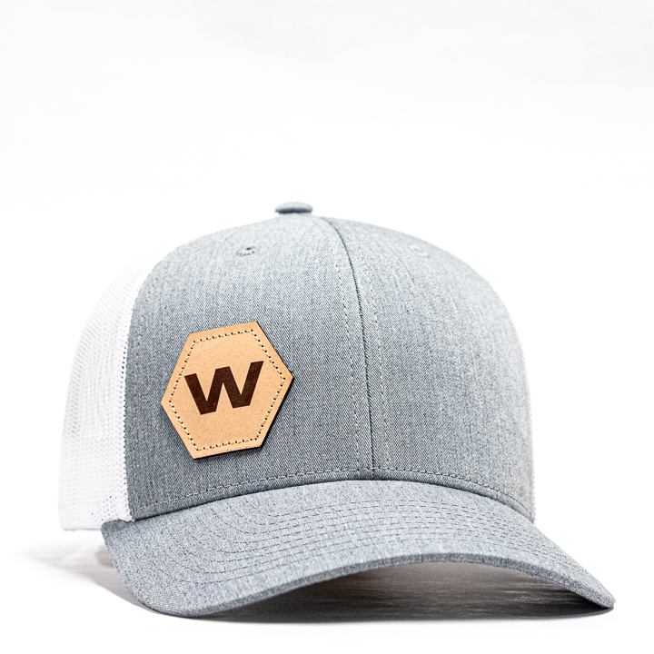 leather hex hat woodway leather hex hat