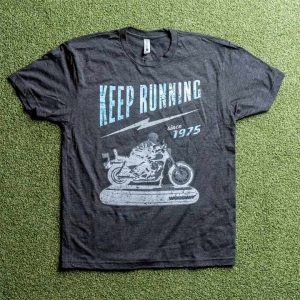 woodway keep running t-shirt