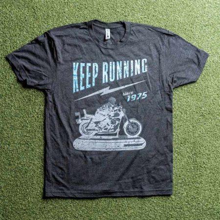 woodway keep running t-shirt