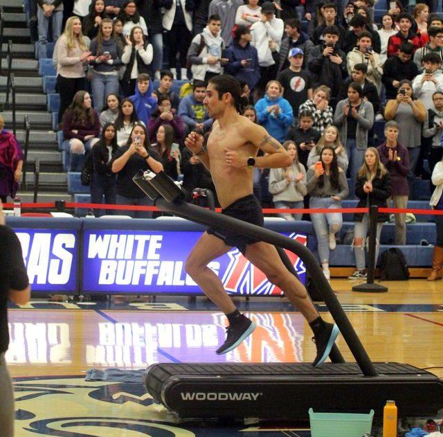 woodway treadmill world record