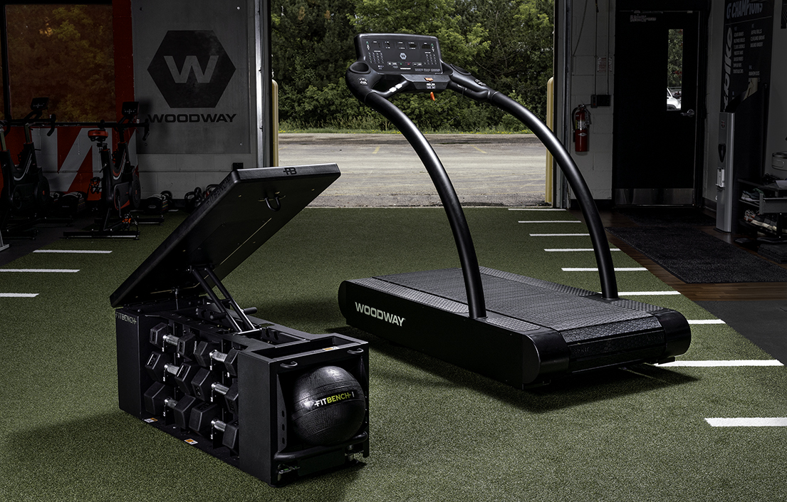 woodway treadmill fitbench