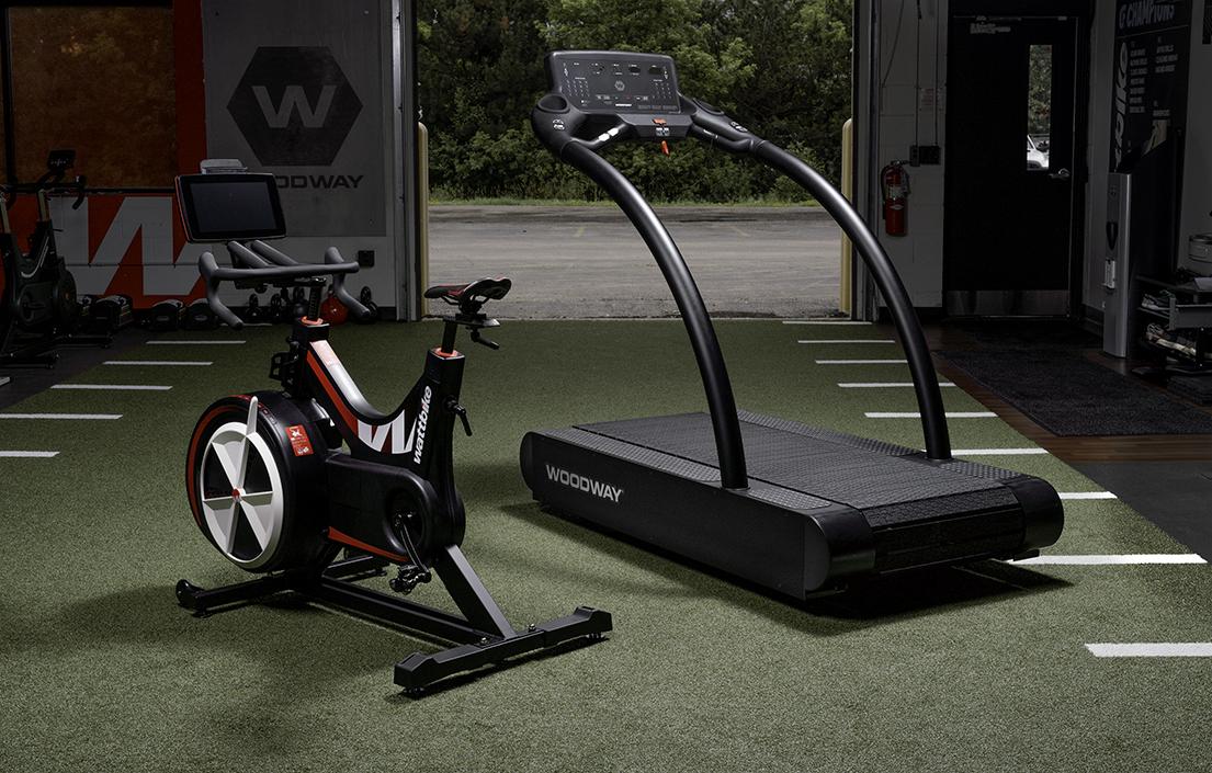 woodway treadmill wattbike