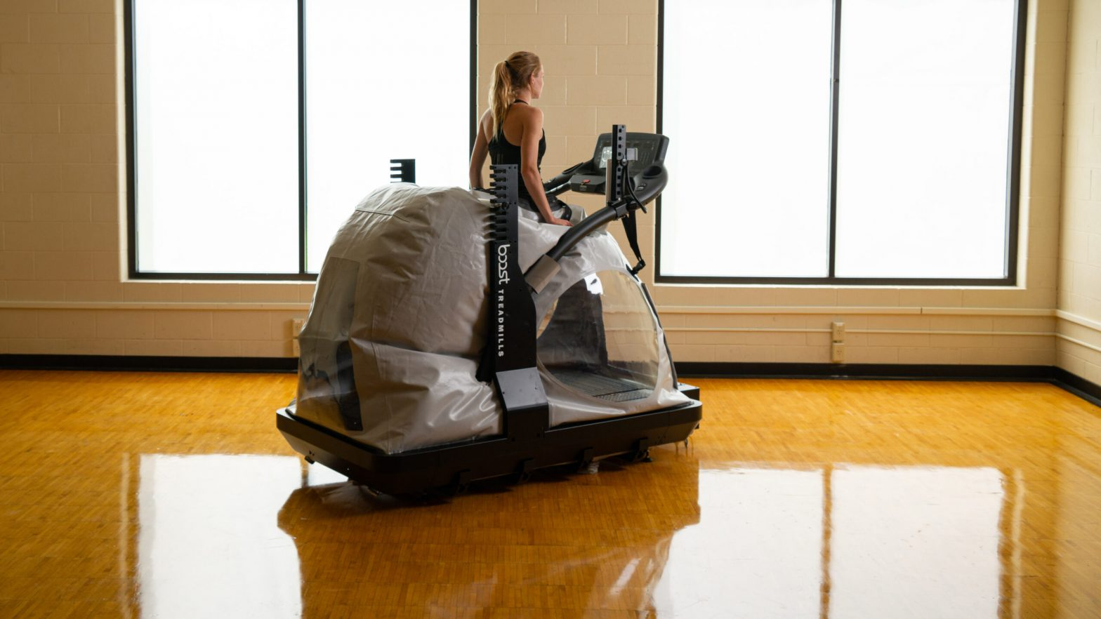 boost treadmills by woodway